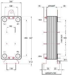 Пластины теплообменника КС 12,1 Пенза Уплотнения теплообменника Sondex SW202 Азов